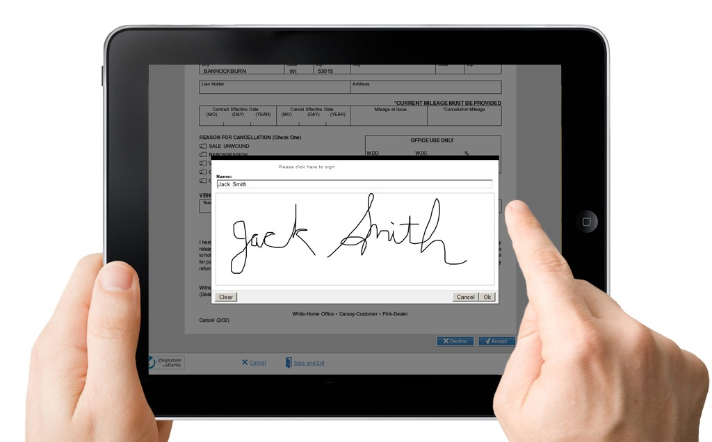 Reduce signing times, Improve user experience and Streamline Business